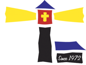 The Little Light House Logo White