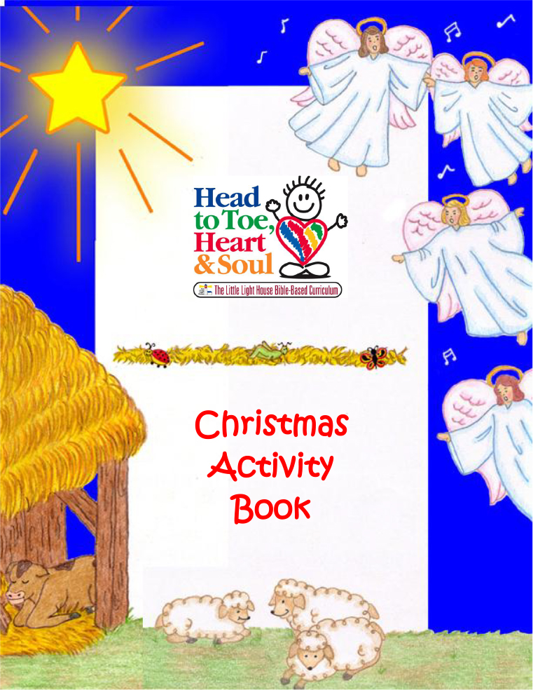 Christmas Story Activity Book